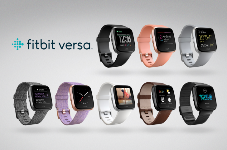 Fitbit announces Versa smartwatch and Ace kids wristband, adds female health tracking to the Fitbit app
