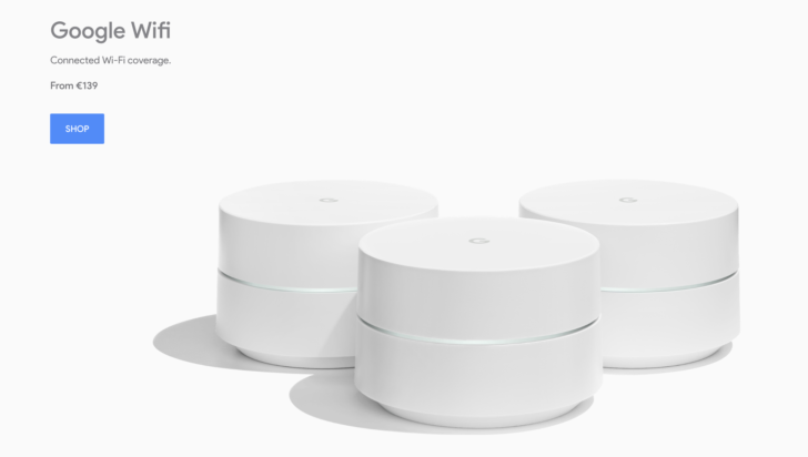 Google Wifi is now available to buy from the Google Store in Ireland