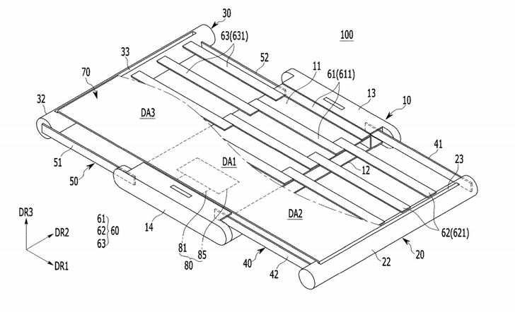 Samsung files patent for pull-to-expand smartphone display