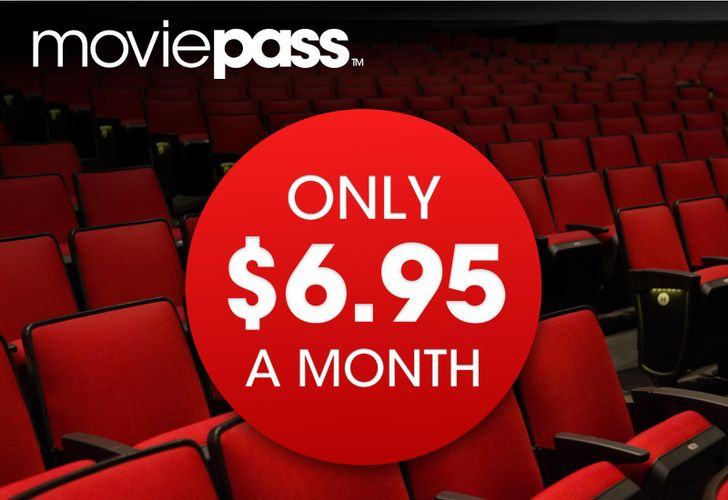 [Deal Alert] MoviePass offering annual subscription at $6.95 per month for a limited time (regularly $9.95/month)