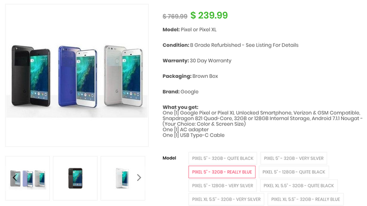 [Deal Alert] Refurbished 1st-gen Pixel just $234.99, Pixel XL $254.99 plus $10 gift card on Daily Steals with our exclusive code