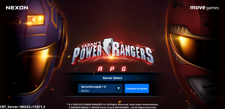 Nexon is developing a Power Rangers RPG, and you can test the beta right now