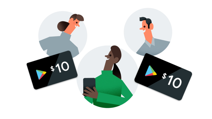 Google Pay offering $10 Play credit to you and a friend per referral, capped at $100 in credit