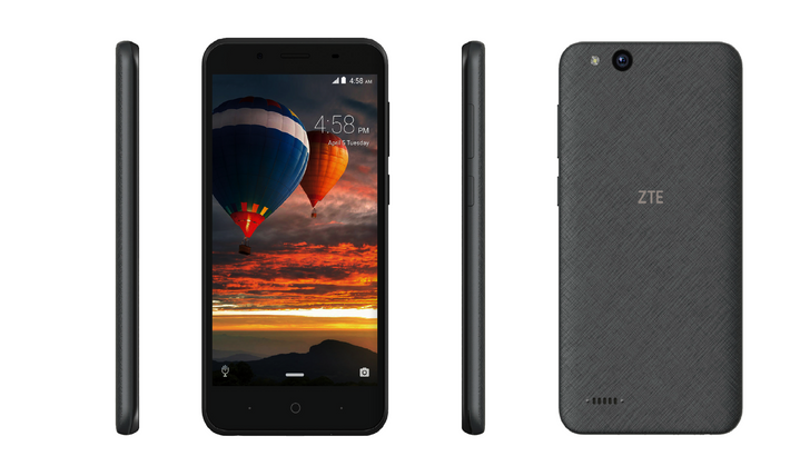 ZTE Tempo Go is the US's first Android Go phone, on sale today for $80