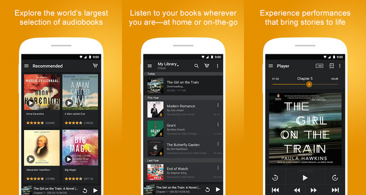 Audible app crosses 100 million downloads on the Play Store