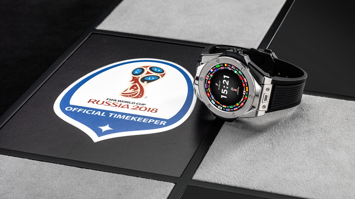 Hublot's $5,200 Wear OS watch to be worn by 2018 FIFA World Cup referees, limited to 2,018 pieces