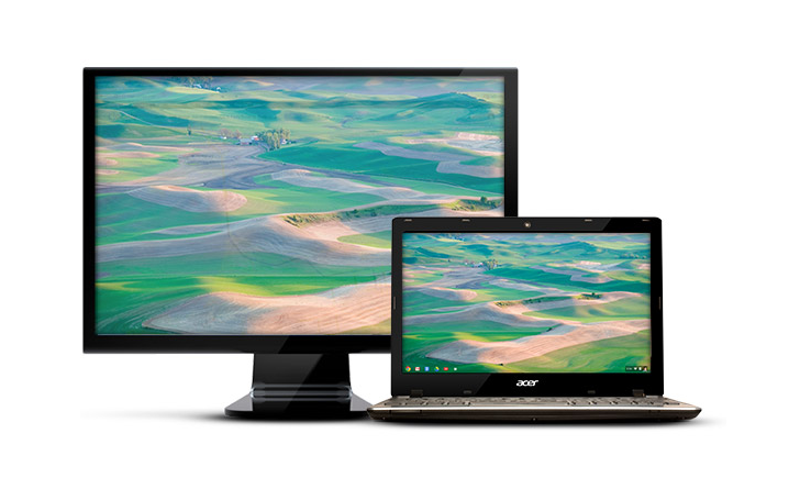 Chrome OS will soon preserve window positions across displays when disconnecting and reconnecting an external monitor