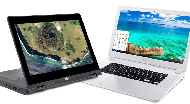 Acer Chromebook 15 (CB5-571) and six other models get official Android app support