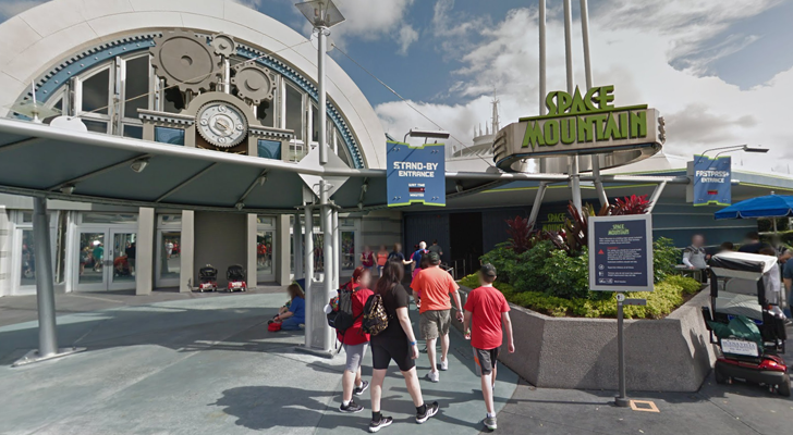 Disney theme parks are now on Google Maps Street View