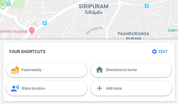 Google Maps shortcuts are live for some users with 14 quick actions to choose from