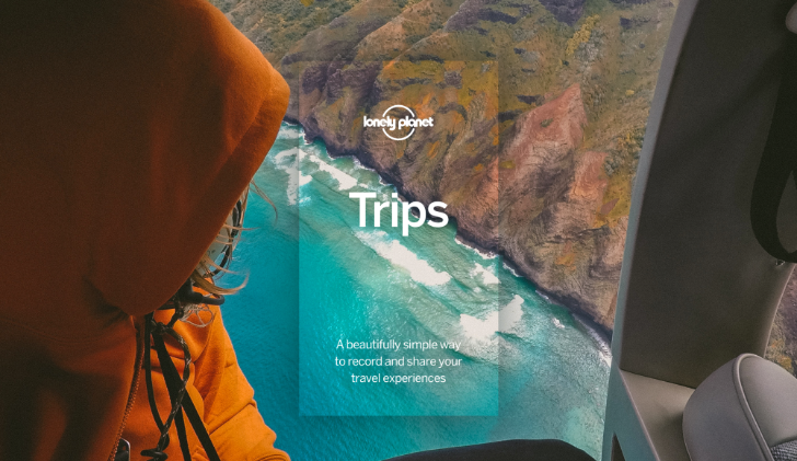 Pack a virtual bag and follow along other travelers in Trips by Lonely Planet