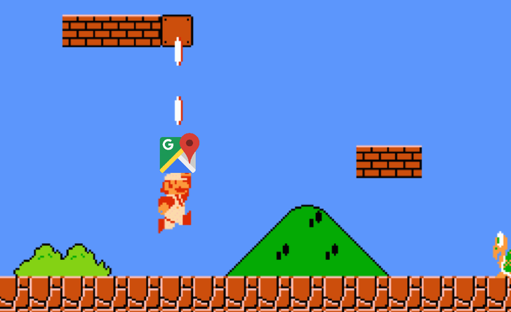 [Update: Official announcement] Mario Day event starts popping up in Google Maps for some