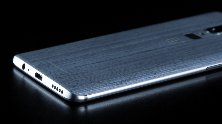OnePlus 6 leaked with textured back and headphone jack