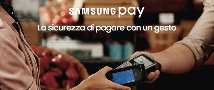 Samsung Pay launches today in Italy