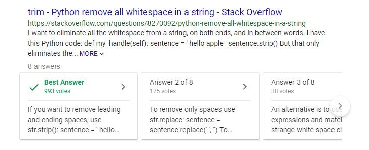 Google Search shows Stack Overflow answers in search results for some users