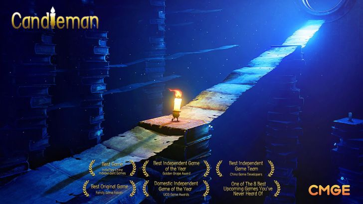 CMGE Group Limited's puzzle-platformer 'Candleman' is a great game no one has heard of
