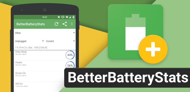 BetterBatteryStats updated with full support for unrooted devices via ADB commands