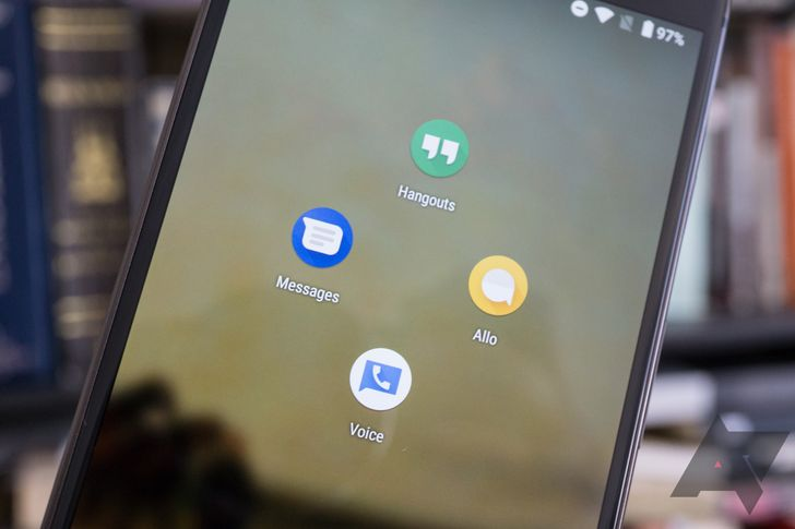 Weekend poll: Are you using any Google messaging apps like Allo, Hangouts, or Android Messages?