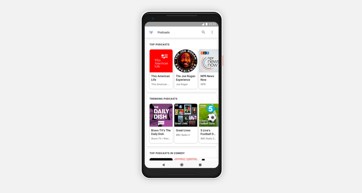 Google has big plans to improve podcasts and boost Android listeners