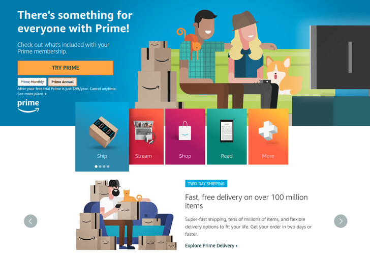 Amazon Prime increasing to $119/yr starting May 11 for new subscribers, June 16 for renewals