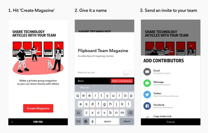 Flipboard revamps its technology category with more curated content, private team magazines, and more