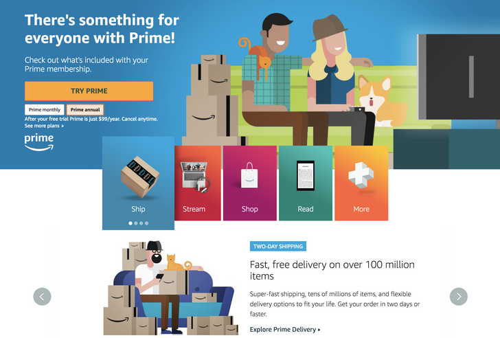 How to keep paying $99 a year for Amazon Prime