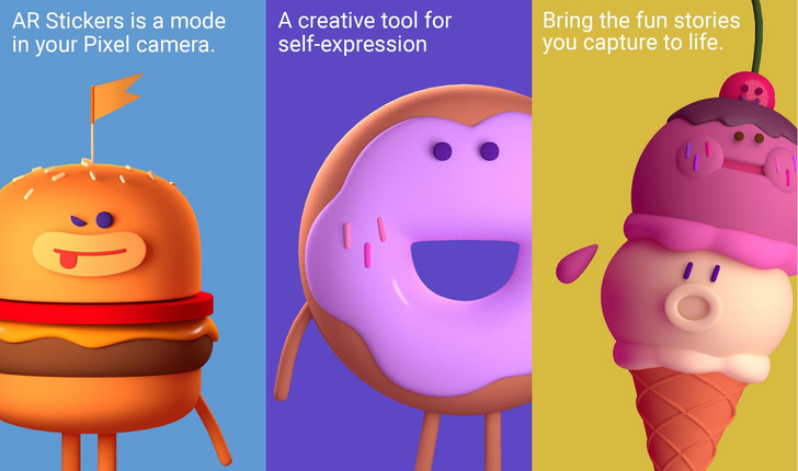 Foodmoji and Text AR Stickers get their own Play Store listing [APK Download]