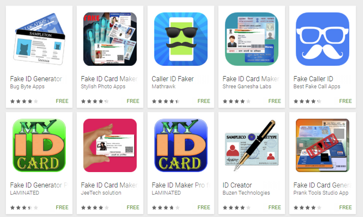 Google bans fake ID apps from the Play Store