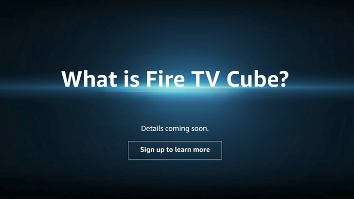 Amazon teases upcoming Fire TV Cube streaming device