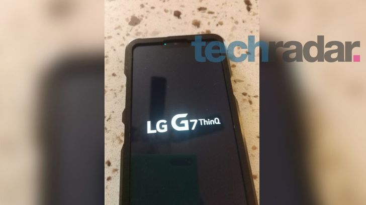 LG G7 appears in leak with 'ThinQ' branding