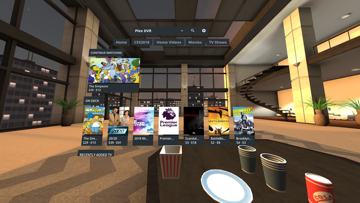 Plex comes to Samsung Gear VR