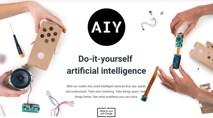 Google announces 2018 AIY Projects kits with Raspberry Pi Zero included, new companion Android app