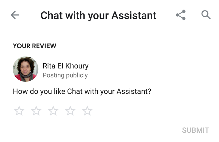 Google rolls out reviews for Assistant actions and apps (Updated)