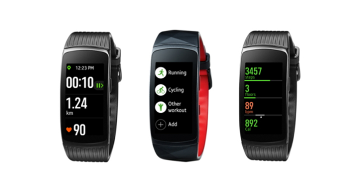 Update for Samsung Gear Fit2 Pro and Gear Fit2 improves how information is displayed