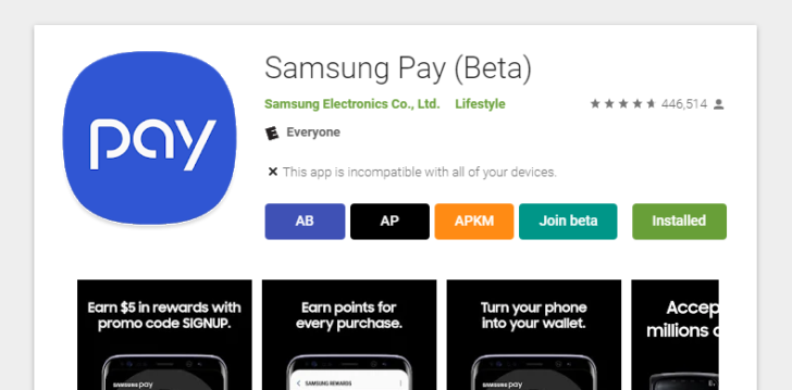 Some Google Play app listings are incorrectly showing as beta versions