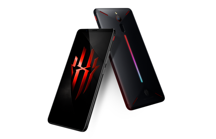 Red Magic from Nubia is an extreme gaming phone with convection cooling and a light bar