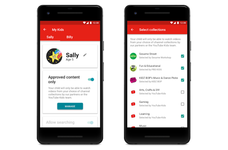 YouTube Kids is getting curated content and more powerful parental controls