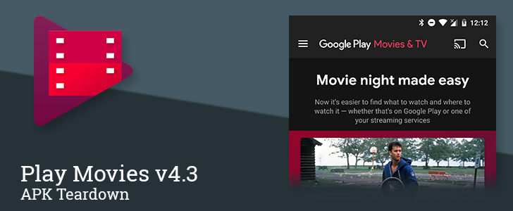 Google Play Movies v4.3 prepares configuration options for streaming services [APK Teardown]