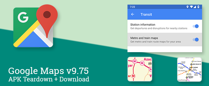 """Google Maps v9.75 beta rolls out with notifications for transit maps, hints of bicycle sharing integration, and mystery LG """"perks""""  [APK Teardown]"""