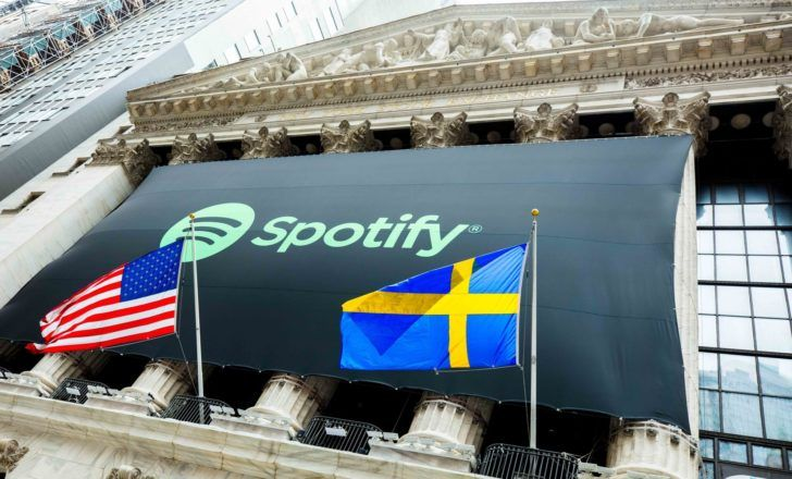 Spotify Begins Public Trading Under Symbol Spot