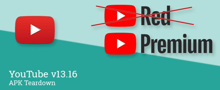 "YouTube v13.16 may be preparing ""Red"" rebrand to ""Premium"" and urging binge watchers to take a break [APK Teardown]"