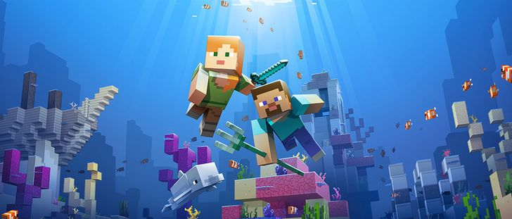 Minecraft 1.4 adds Phase One of the Update Aquatic, and the 1.5.0.4 beta is live with a bunch of bug fixes