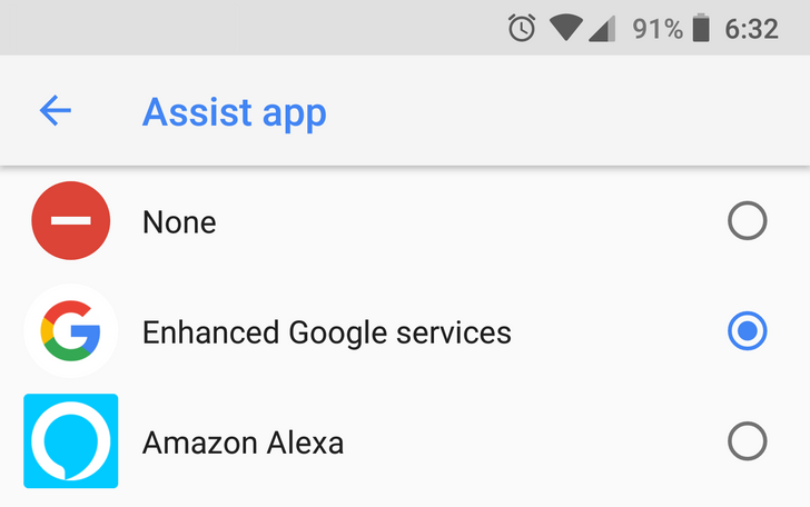 Alexa can now be set as the default Assistant on Android, and here's how
