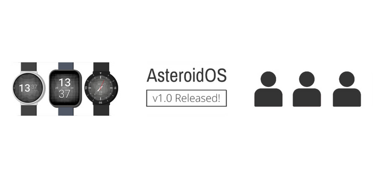 AsteroidOS, an open-source Wear OS alternative, now available as a stable release