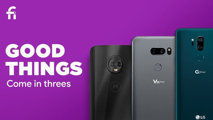 Project Fi doubling phone support with addition of Moto G6, LG G7 ThinQ, and V35 ThinQ
