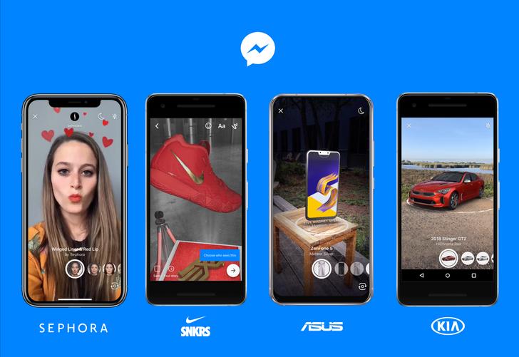 Facebook is bringing AR, language translation, and a simpler design to Messenger