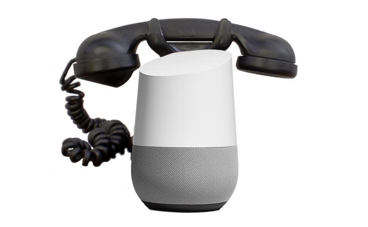 Google Home supports navigating touch-tone menus by voice