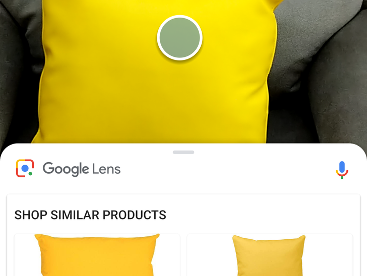 Google Lens real-time detection now rolling out with new white UI