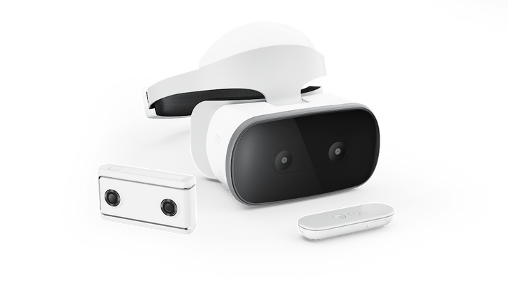 The Lenovo Mirage Solo Daydream headset and Mirage VR Camera are available today