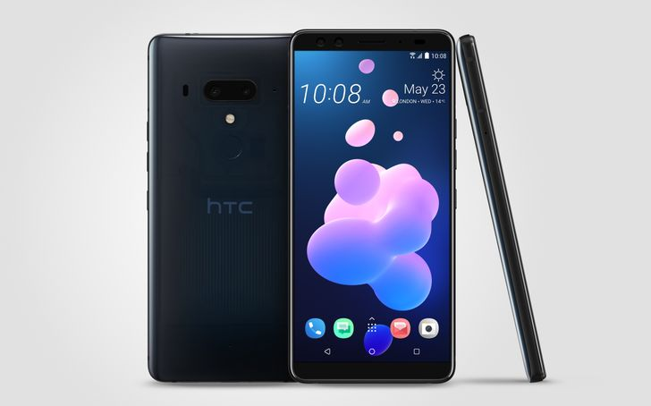 HTC U12+ is official, with dual cameras, Edge Sense 2, and a stunning Translucent Blue color option